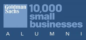 Goldman Sachs small businesses alumni logo