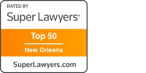 Andre Mouledoux Super Lawyers Top 50 New Orleans