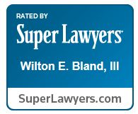 Wilton Bland Super Lawyers logo