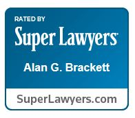 Alan Brackett Super Lawyers logo