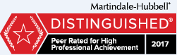 Martingale-Hubbell Distinguished logo