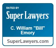 Bill Emory Super Lawyers logo