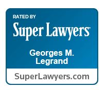 George Legrand Super Lawyers logo
