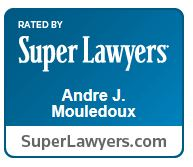 Andre Mouledoux Super Lawyers logo