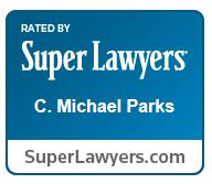 Mike Parks Super Lawyers logo