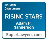 Adam Sanderson Super Lawyers Rising Star logo