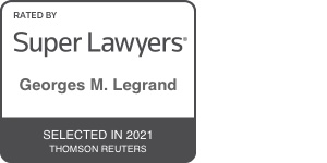 Super Lawyers Georges Legrand 2021