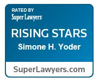 Simone Yoder Super Lawyers Rising Stars