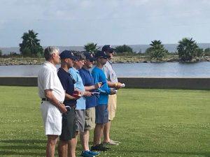 Crew members at Defenders' Challenge Regatta