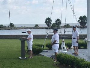 Southern Yacht Club members at Defenders' Challenge Cup
