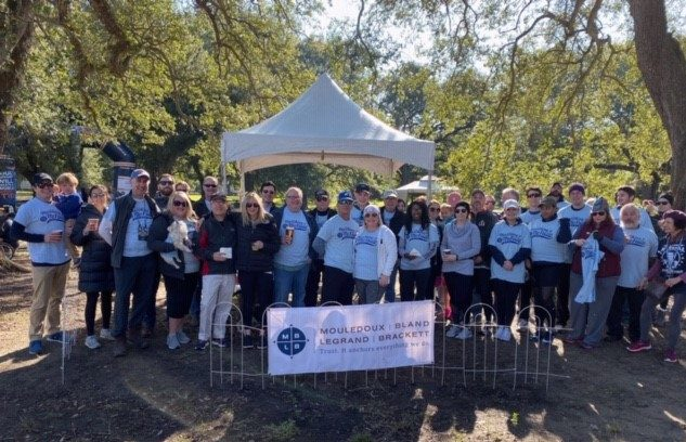 MBLB Marching 4 McFaull JDRF One Walk 2019 team