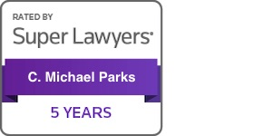 Michael Park Super Lawyers 5 years badge