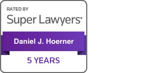 Daniel Hoerner Super Lawyers 5 years badge