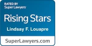 Lindsey Louapre Rising Stars badge