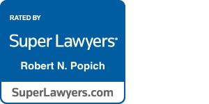 Robert Popich Super Lawyers badge